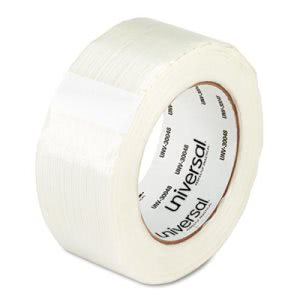 "Universal General Purpose Filament Tape, 2"" x 60 Yards, 3"" Core, Each (UNV30048)"