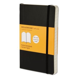 Moleskine Softcover Notebook, 3 1/2 x 5 1/2, Ruled, 192 Sheets (HBGMS710)