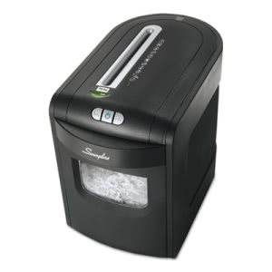 Swingline EX10-06 Medium-Duty Cross-Cut Shredder, 10 Sheet Capacity (SWI1757392)