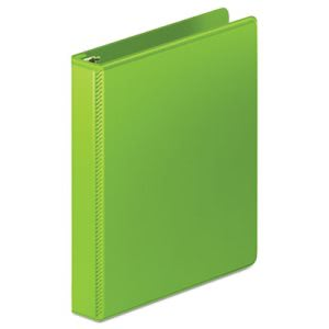 "Wilson Jones D-Ring View Binder, 1"" Capacity, Chartreuse (WLJ38514376)"