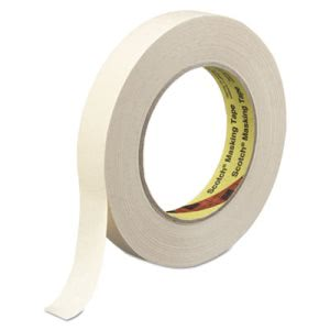 "Scotch High Performance Masking Tape, 1.88"" x 60 yards, 3"" Core, Tan (MMM2322)"