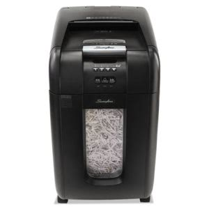 Swingline 250X Medium-Duty Cross-Cut Shredder, 250 Sheet Capacity (SWI1757576)