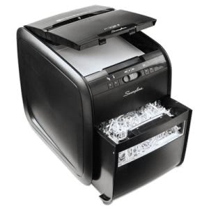 Swingline Stack-and-Shred 80X Cross-Cut Shredder, 80 Sheet Capacity (SWI1757574)
