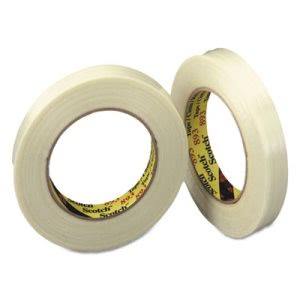 "Scotch Filament Tape, .94"" x 60 yards, 3"" Core, Roll (MMM8931)"