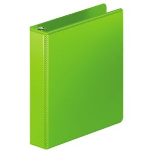 "Wilson Jones D-Ring View Binder, 1 1/2"" Capacity, Chartreuse (WLJ38534376)"