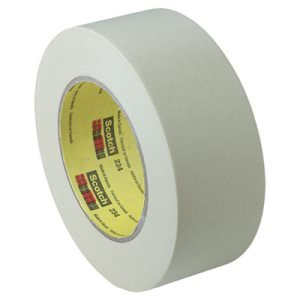"Scotch General Purpose Masking Tape 234, 1.88"" x 60 yds, 3"" Core, Tan (MMM2342)"