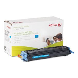 Xerox 6R1411 Compatible Remanufactured Toner, 4000 Page-Yield, Cyan (XER6R1411)