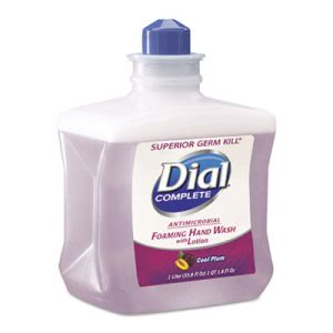 Dial Complete Foaming Hand Wash Refill, Cool Plum Scent, 1L Bottle (DIA81033)