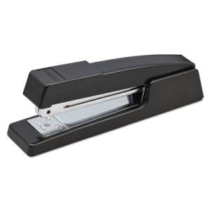 Stanley Bostitch Half Strip Classic Stapler, 20-Sheet Capacity (BOSB400BK)