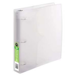 "Wilson Jones Translucent Poly Round Ring Binder, 1-1/2"" Capacity (WLJ40775)"