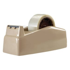 "Scotch 2-Roll Desktop Tape Dispenser, 3"" core, High-Impact Plastic (MMMC22)"