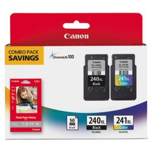 Canon 5206B005 (PG-240, CL-241XL) Ink, Black, Color, 2/Pk (CNM5206B005)