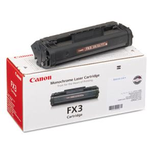 Canon FX3 (FX-3) Toner, 2700 Page-Yield, Black (CNMFX3)