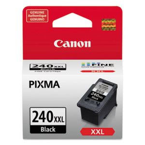 Canon 5204B001 (PG-240XXL) Extra High-Yield Ink, 600 Page, Black (CNM5204B001)