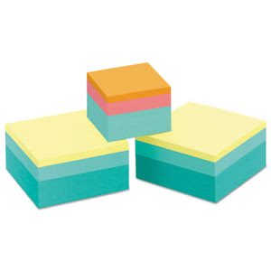 Post-it Notes Cubes, Sweet Pea, 3 Assorted Size Pads (MMM2053SPVAD)