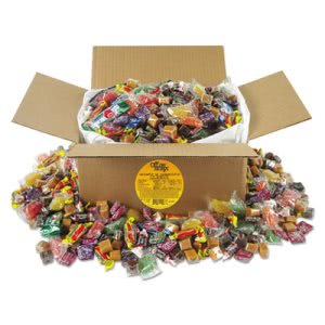Office Snax Soft & Chewy Candy Mix, Individually Wrapped, 10 lb Box (OFX00086)