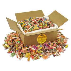 Office Snax All Tyme Favorites Candy Mix, 10 lb Box (OFX00085)