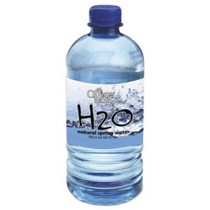 Office Snax H2O Natural Spring Water, 20-oz, 24 Bottles (OFX00027)