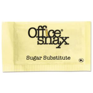 Office Snax Nutrasweet Yellow Sweetener, 2000 Packets/Carton (OFX00062)