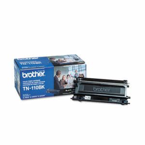 Brother TN110BK Toner Cartridge, 2500 Page-Yield, Black (BRTTN110BK)