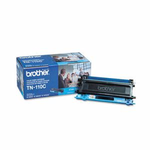Brother TN110C Toner Cartridge, 1500 Page-Yield, Cyan (BRTTN110C)