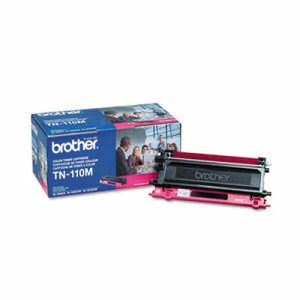 Brother TN110M Toner, 1500 Page-Yield, Magenta (BRTTN110M)