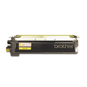 Brother TN210Y Toner Cartridge, 1400 Page-Yield, Yellow (BRTTN210Y)