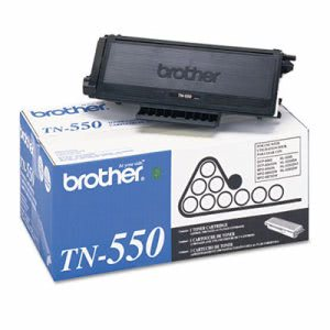 Brother TN550 Toner Cartridge, 3500 Page-Yield, Black (BRTTN550)