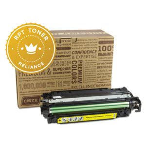 Reliance RPTCE252A Compatible, Reman, CE252A Toner, Yellow (RPTRELCE252A)
