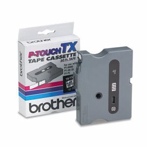 Brother P-touch TX Tape Cartridge for PT-8000, PT-PC, PT-30/35, 1/2w (BRTTX1311)