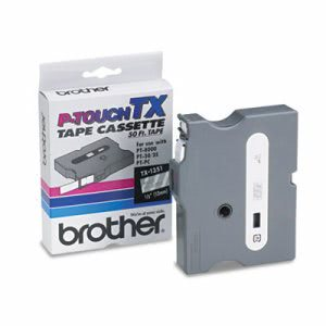Brother P-touch TX Tape Cartridge for PT-8000, PT-PC, PT-30/35, 1/2w (BRTTX1351)