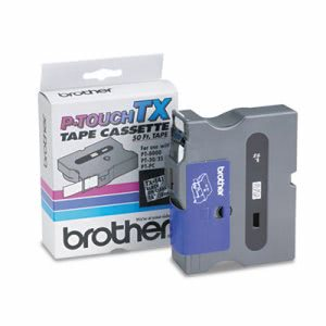 Brother P-touch TX Tape Cartridge for PT-8000, PT-PC, PT-30/35, 3/4w (BRTTX1411)