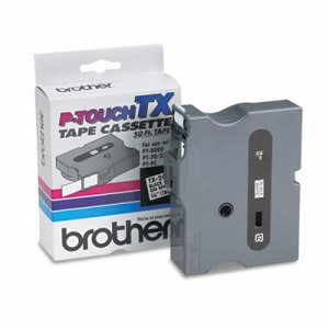 Brother P-touch TX Tape Cartridge for PT-8000, PT-PC, PT-30/35, 3/4w (BRTTX2411)