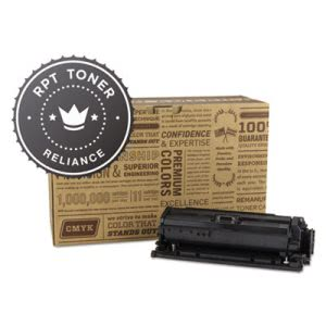 Reliance RPTCE250A Compatible, Reman, CE250A Toner, Black (RPTRELCE250A)