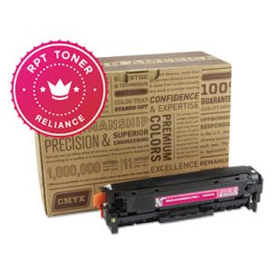 Reliance Compatible, Reman, CC533A Toner, 2800 Page, Yellow (RPTRELCC533A)