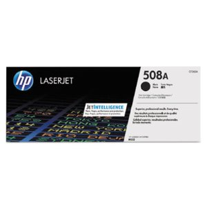 HP 508A, (CF360A) Black Original LaserJet Toner Cartridge (HEWCF360A)