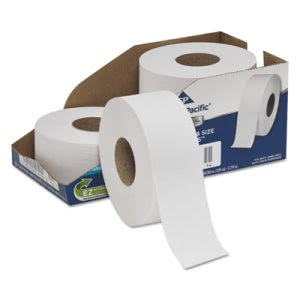 "Georgia Pacific Jumbo Bathroom Tissue, 2-Ply,  9"" Diameter, 4 Rolls(GPC2172114)"