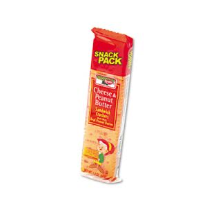 Keebler Sandwich Crackers, Cheese & Peanut Butter, 12 Packs (KEB21165)