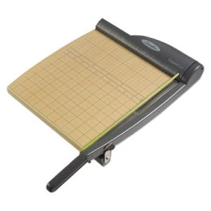 Swingline Paper Trimmer, 15 Sheets, Metal/Wood Composite Base (SWI9112)