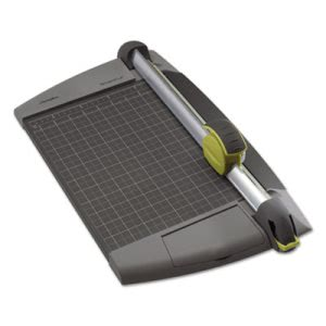 Swingline EarlyBlade Plus Rotary Trimmer, 15 Sheets, Metal Base (SWI8912)