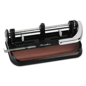 Swingline 40-Sheet Heavy-Duty Lever Action 2 to 7 Hole Punch, 11/32 (SWI74400)