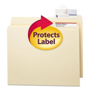 Smead Seal & View File Folder Protector, Laminate,100 per Pack (SMD67600)