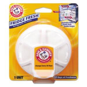 Arm & Hammer Fridge Fresh Baking Soda, Unscented, 8/Carton (CDC3320001710)