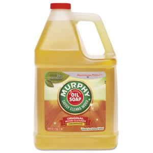 Murphy's Oil Soap, Wood Surfaces, 1 Gallon Bottle, 4 Bottles (MUR 01103)