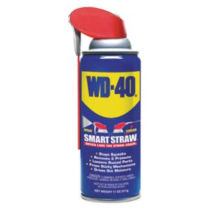 Wd-40 Smart Straw Spray Lubricant, 11 oz Aerosol Can (WDF490040EA)
