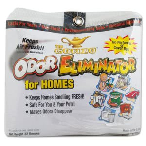 Gonzo Odor Eliminator, Volcanic Rocks, 32 oz Net Bag, 6/Carton (WMN1013D)