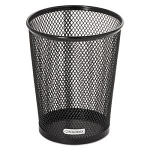 Rolodex Nestable Jumbo Wire Mesh Pencil Cup, 4 3/8 x 5 1/8, Black (ROL62557)