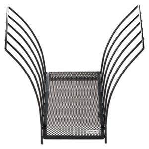 Rolodex Butterfly File Sorter, Five Sections, Mesh, Black (ROL1742326)