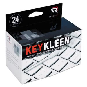 Read Right KeyKleen Keyboard Cleaner Swabs, 24/Box (REARR1243)
