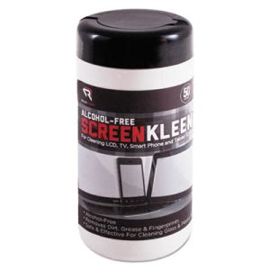 Read Right ScreenKleen Monitor Cleaning Wet Wipes, 50 Wipes (REARR1491)